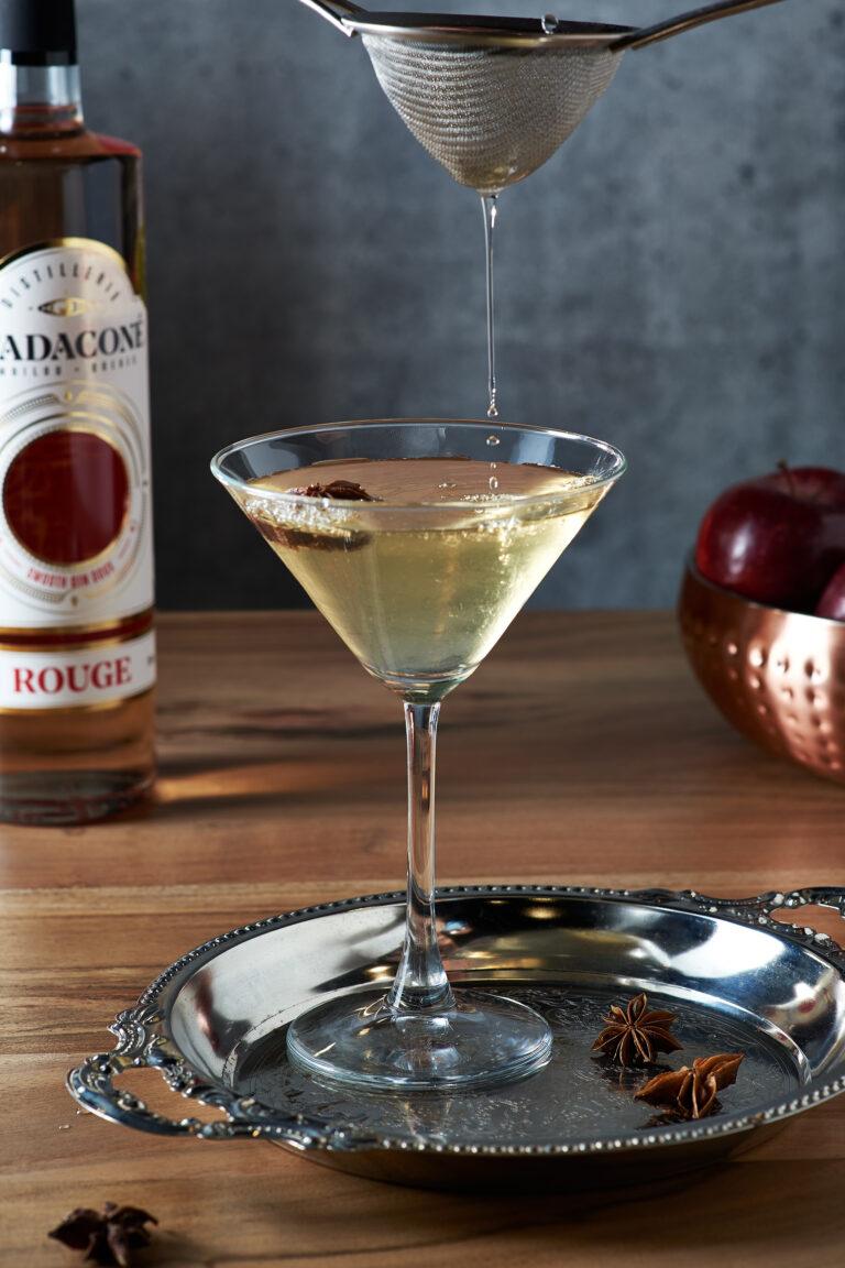 Martini pomme et sureau - Stadaconé rouge
